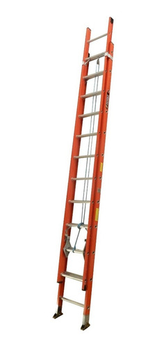Escalera Extension Fibra 24 Pasos / 7.4 Mts 114 Kg