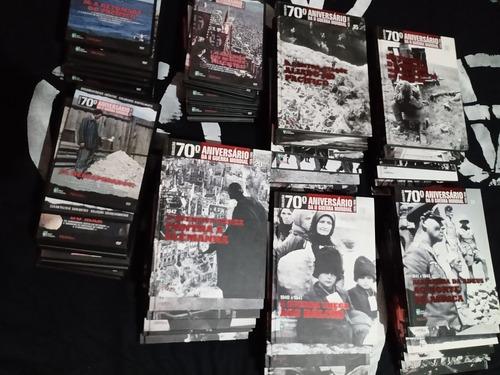 Coleção 70 Anos Segunda Guerra - 30 Livros - 30 Dvds