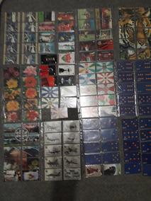 Coleção De Cartões Da Telemar Do Rj São Todos Diferentes.