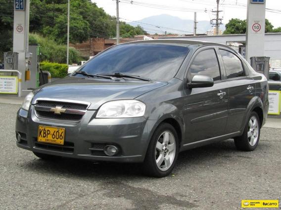 Chevrolet Aveo Automático 1.6