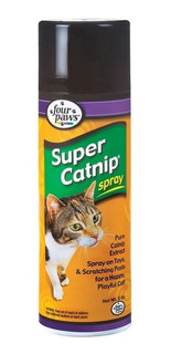 Catnip Atrayente En Spray Four Paws Para Gatos 141grs