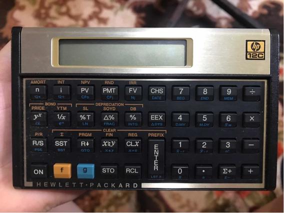 Calculadora Hp 12c C/ Manual Em Português