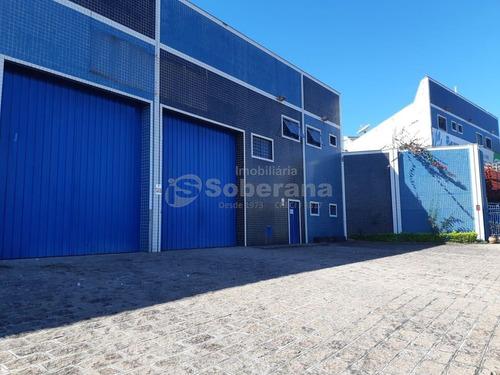 Barracão Para Aluguel Em Jardim Okita - Ba012393