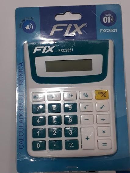 Calculadora Basica Fix 2531 Escolar