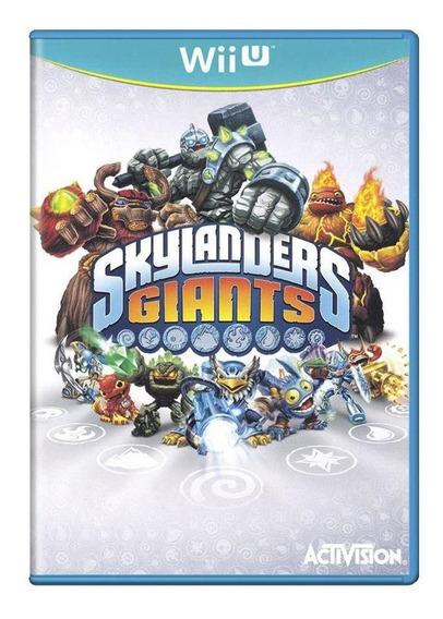 Skylanders Giants Wii U Mídia Física Pronta Entrega