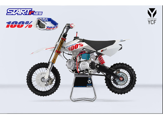 Motocicleta Ycf Start 125 Limited 100% 12 Meses Sin Interes
