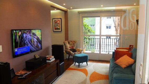 Apartamento Com 2 Dormitórios À Venda, 105 M² Por R$ 1.100.000,00 - Vila Madalena - São Paulo/sp - Ap3080