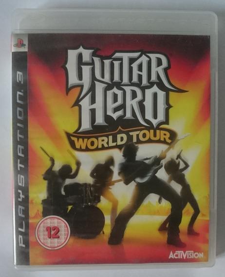 Guitar Hero World Tour - Ps3 - Midia Fisica