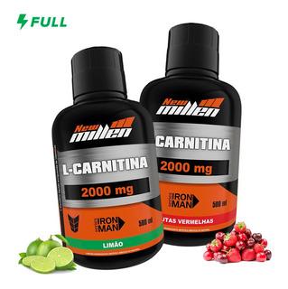 2x L Carnitina 2000mg - 500ml Cada - New Millen