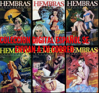Hembras Peligrosas Comic Antiguo Coleccion Digital