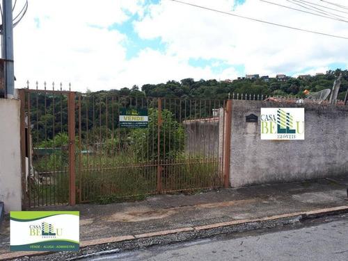 Terreno À Venda, 300 M² Por R$ 460.000,00 - Região Central - Caieiras/sp - Te0032