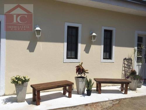 Casa Com 3 Dormitórios Sendo 1 Suíte  À Venda, 112 M² Por R$ 450.000 - Caucaia Do Alto - Cotia/sp - Ca1103
