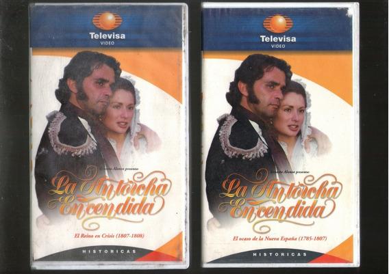 La Antorcha Encendida 2 Vhs 1 Y 2 De 1996