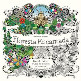 Floresta Encantada - Livro De Colorir E Caça Ao Tesouro Ant