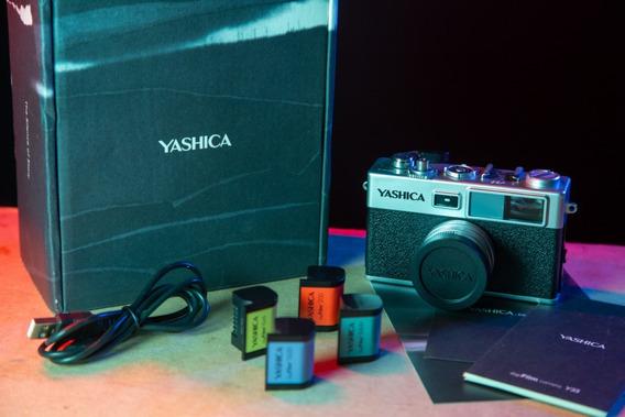 Câmera Yashica Digifilm Y35 - Usada Somente Para Teste