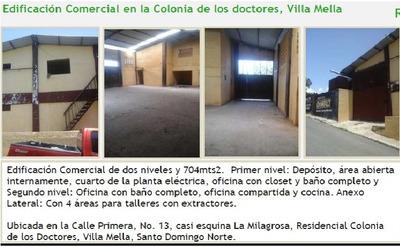Edificación Comercial En La Colonia De Los Doctores, Villa M