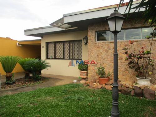 Imagem 1 de 24 de Casa À Venda Na Vila Romana, Em Rua Fechada. Com 3 Dormitórios, 5 Vagas, Quintal Com Churrasqueira! - Ca1234