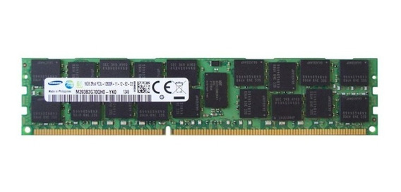 Memoria Samsung 8gb Rdimm Ddr3l 1600 M393b1k70dh0-yk0