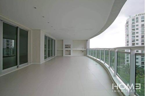 Imagem 1 de 24 de Apartamento Com 4 Dormitórios À Venda, 298 M² Por R$ 3.587.200,00 - Barra Da Tijuca - Rio De Janeiro/rj - Ap0954
