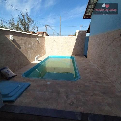 Imagem 1 de 22 de Casa Com 2 Dormitórios À Venda, 78 M² Por R$ 220.000 - Unamar - Cabo Frio/rj - Ca0326