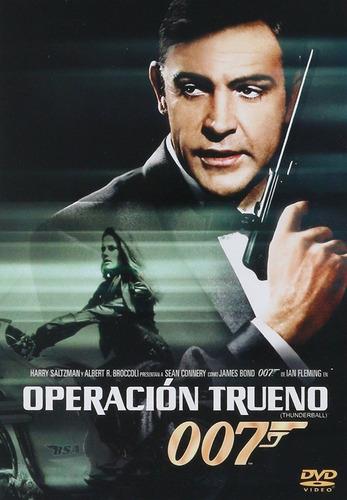 007 Operacion Trueno Thunderball James Bond Pelicula Dvd