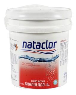 Cloro Granulado Disolución Lenta 10 Kg Nataclor Mm