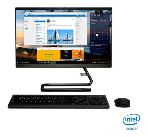 All In One Lenovo 21,5  Intel Core I3-10100t 4gb 1tb F0ev000