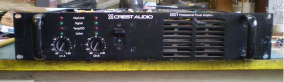 Amplificador Crest Audio Mod. 6001 - 109 -