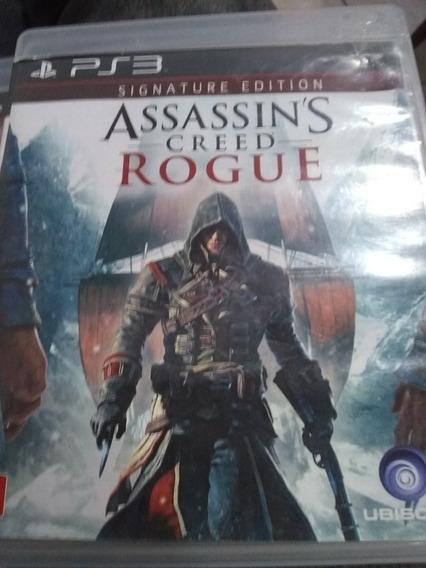 Jogo Mídia Física Ps3 Assassina Creed Rogue