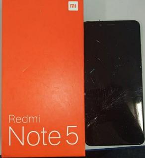 Celular Xiaomi Redmi Note 5 M1803e7sh (tela Quebrada)