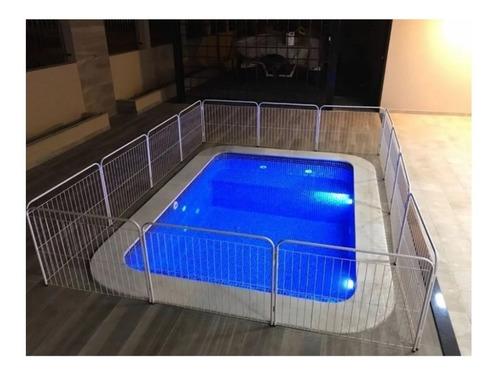 Imagem 1 de 3 de Cerca Para Piscina Proteção Cães Pet Cão Cachorro 0,7x1m
