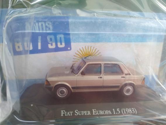Autos Inolvidables 80/90 Nro 22 Fiat Súper Europa 1.5 1983