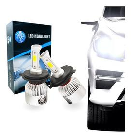Par Lampadas Xenon Shock Light H4 Power Led 3d 9000lm 6000k