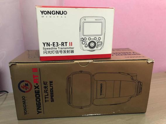 Kit Flash E Rádio Yongnuo Digital