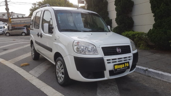 Fiat Doblo Atractive 1.4 Flex 2015 Branco Completo