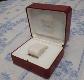 Caixa Relógio Cartier Original Com Cartão