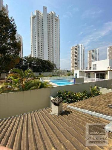 Imagem 1 de 15 de Sobrado Com 3 Dormitórios À Venda, 161 M² Por R$ 790.000,00 - Condomínio Villa Campolim - Sorocaba/sp - So0183