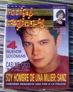 Revista Notitas Musicales Alejandro Sanz Thalia Love 1993