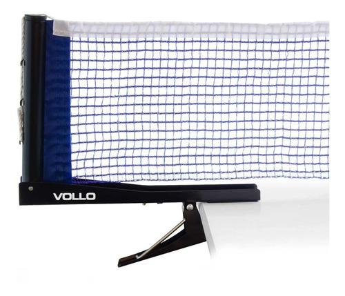 Kit Rede Tenis De Mesa Vollo Suporte Alicate Mesa Ping Pong