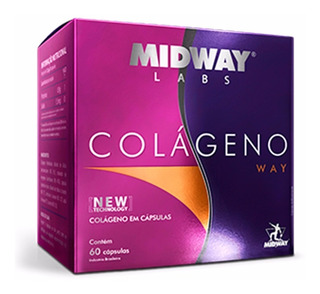 Colageno Glamour Nutrition - 60 Capsulas - Midway