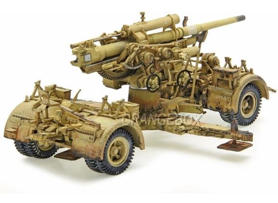 Artilharia German 88mm Flak 18 + 08 Soldados 1942) 1:32
