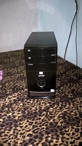 Cpu Daten Com 4gb De Ram, 500gb De Hd, Processador Dual Core