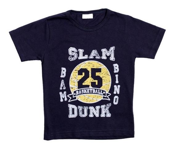 Trío Franela Para Niños Bambino Slam Dunk