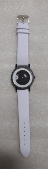 Relógio Minimalista - Difuso - Criativo - Unisex