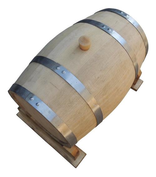 Barril,barrica,tonel De 50 Litros.guarda De Vino,whisky,cerv