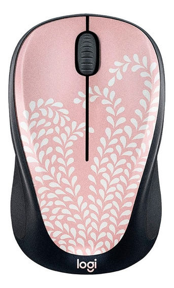 Mouse Inalámbrico M317 Rosa Collection Logitech