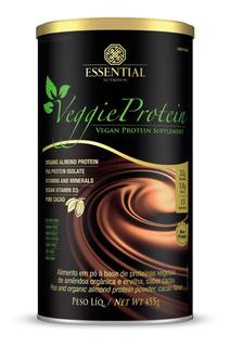 Veggie Protein Cacao 455g - Essential Nutrition
