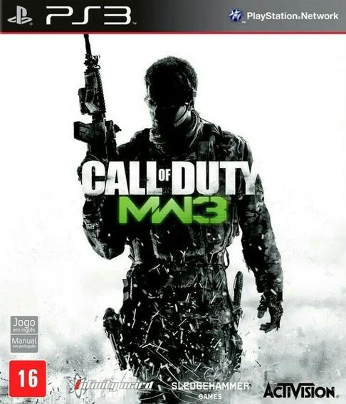 Cod Mw3 Ps3 Play3 Jogo Comprar