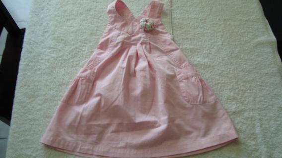 Vestido Zara Para Niñas Talla 12 A 18 Meses Como Nuevo