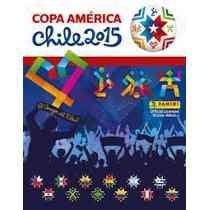 Álbum Copa América Chile 2015 Completo Para Colar